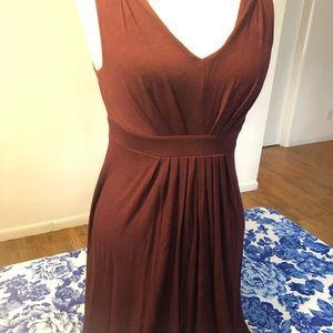 LOFT Merlot Dress